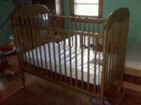 Nice crib for sale with the mattress. Call/text  if