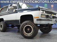 1989 K5 BLAZER 4X4COWBOY PACKAGE! FULL ENGINE OUT