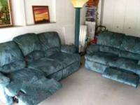 Hello, I am selling my couch, loveseat along with lamp