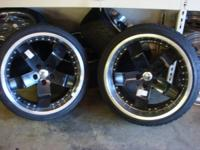 "Set of Four - Niche Wheels  5 Lug -  4-1/2"" lug pattern"
