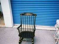 Nichols Stone Rocking Chair, Purchased at Ethan Allen