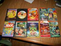 For sale are the following: DVDs: Nick Picks 5 Nick