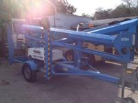 TM50 | Trailer Mounted Cherry Picker With one of the