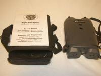 Night Owl Night Vision Binoculars(NONH4U) Like New,