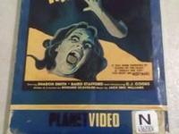 For sale, RARE copy of NIGHTMARE VHS released on Planet