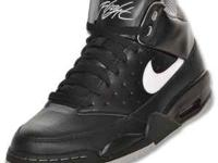 Brand new Nike Air Flight Classic shoes in black. Size