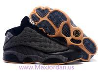 Online sale nike air jordan 13 low quai 54 black grey