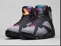 DS pair of Nike Air Jordan 7 Retro Bordeaux Sz 10.5
