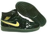 Nike Air Jordan Retro 1 Black/Gold Size-8.5, 9.5, 10,