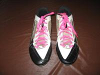 These are a pair of men's Nike Flywire football cleats,