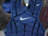 "New/w tags NIKE 17"" pro/gold Catchers Chest Protection"
