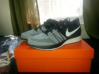 I got DS flyknit trainers sz 12. Looking for $200 obo.