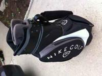 Nike Golf Cart bag for sale. This bag is in great