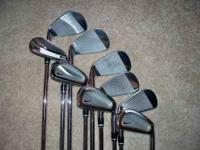 THIS IS A SET OF NIKE PRO COMBO 2-PW IN EXCELLENT