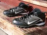 Nike football cleats, Land Shark........ Size Mens 11.