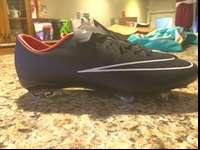 These cleats are a half size too small for me. I need