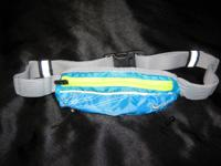 Nike Race Day belt w/8 gel/GU holders, bib lanyards &