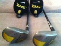 Matching Nike 3 & 4 sumo Hybrids, with Matching head