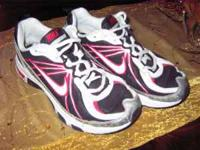 Nike Boys or Girls Sneakers/Tennis Shoes. Red, White,