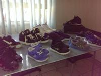 For sale kid and kids shoes great condition, front row