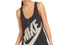 Nike's Gym Vintage tank works for your workouts! Pair
