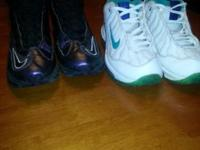 Nike youth sz 5 Griffey sneakers Both prs are good