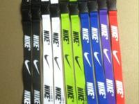 These are high quality, brand new Nike Lanyards that