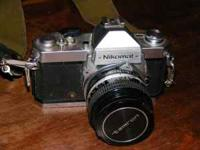 Nikomat 35mm camera from around 1980 or 81 in great