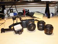 I am trying to sell of my current photography equipment