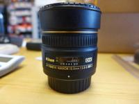 Beautiful 10.5mm Nikon AF 2.8 G ED Fisheye lens Glass
