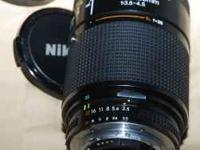 This is a Nikon 35-135mm f3.5-4.5 Lens in very good