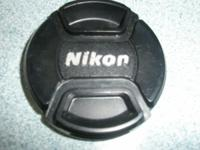 Nikon - 52mm Lens Cover $8 Call  No text or e-mails //