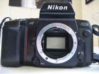 Nikon 8008s AutoFocus 35mm Film Camera 50.00 OR BEST