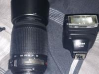 This lens is in perfect condition. Includes lens cap,