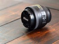 Hi there Craiglist! Up for sale is the Nikkor 35mm