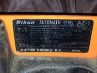 * nikon automatic level az-1 360 degrees with