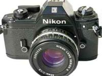 I have a Nikon EM camera for sale for $50. The