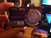 Pinkish purple Mint condition Nikon Coolpix s230 10