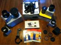 Nikon Coolpix 8700 digital camera with lens adapters,