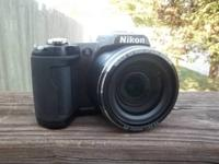 Nikon L110, black. camera is in very good condition,