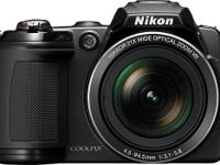 I received a brand new Nikon CoolPix L120 as a gift but