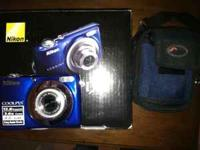 I am selling my 12 megapixel Nikon Coolpix L22 camera.