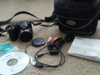 Very good condition. Includes: LC-CP25 Lens Cap AN-CP21