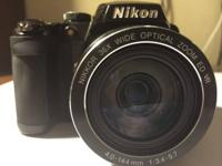 UP FOR SALE IS A IN GOOD CONDITION NIKON COOLPIX P500.