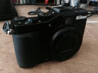 Nikon p7000 compact digital video camera, made use of,