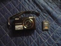 Have a awesome little Nikon Coolpix S570, comes with
