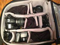 Nikon D7000 video camera, 2 extra batteries, 2