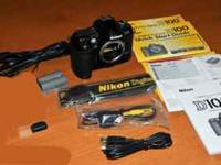 Camera body only with Battery, Charger, Owners Manual