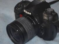 NIKON D100 6.1 MP DIGITAL SLR CAMERA (USED). THIS IS A