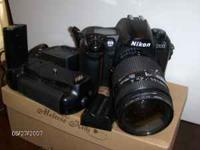 Super nice NIKON D-100 with AWSOME lens 35-70 2.8 also